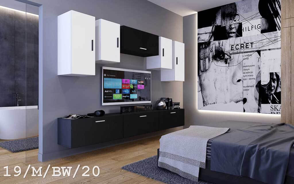 m bel f r wohnzimmer future 19 m bw 20. Black Bedroom Furniture Sets. Home Design Ideas