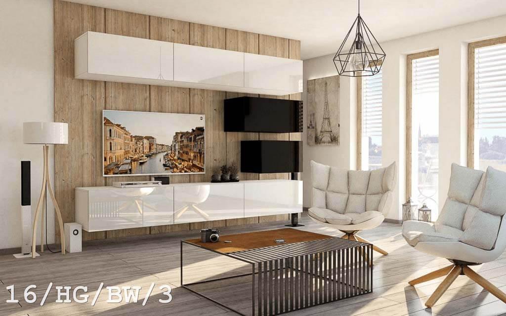Möbel für Wohnzimmer Future 16 HG/BW/3 www.prime-home.de
