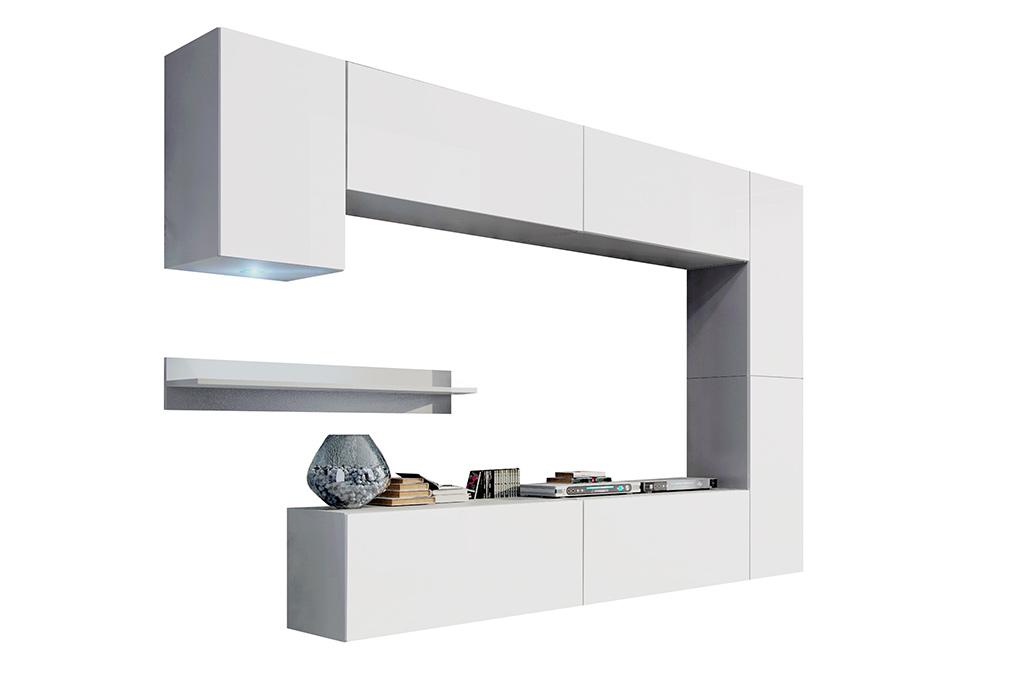 m bel f r wohnzimmer future 6 wei und matt prime home de. Black Bedroom Furniture Sets. Home Design Ideas