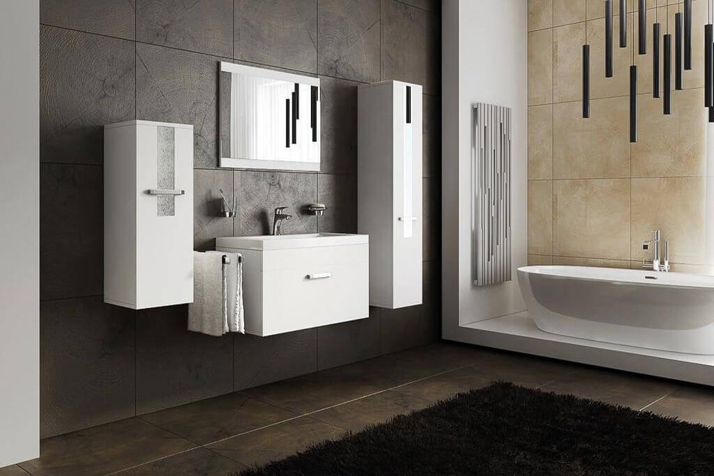 Beautiful Möbel Für Badezimmer SHERI Weiß | Prime Home Deutschland U2013 Möbel Für  Haus Und Büro