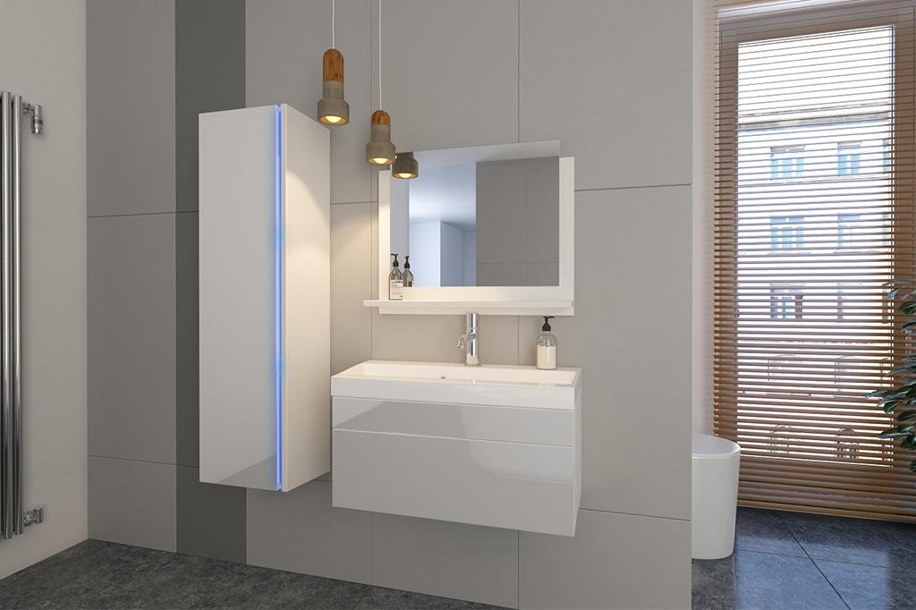 m bel f r badezimmer jenny wei. Black Bedroom Furniture Sets. Home Design Ideas