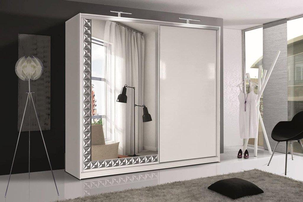 Kleiderschrank mit Schiebetüren – ISLAND - Prime Home Deutschland – Möbel für Haus und Büro | www.prime-home.de