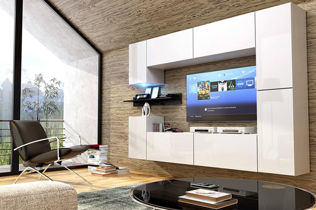 mobel fur wohnzimmer weiss und glanzend future 13 prime home deutschland mobel fur