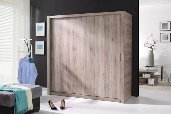 Kleiderschrank sonoma – Fubu - Prime Home Deutschland – Möbel für Haus und Büro | www.prime-home.de