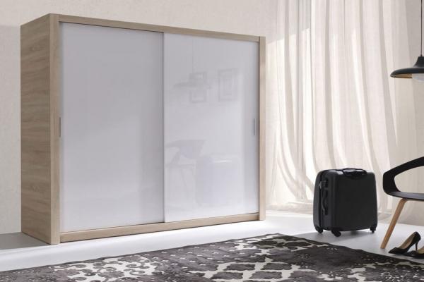 Kleiderschrank sonoma weiß Hochglanz – Fubu - Prime Home Deutschland – Möbel für Haus und Büro | www.prime-home.de