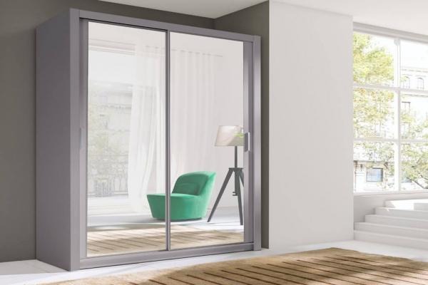 Ein grauer Kleiderschrank – Nollie - Prime Home Deutschland – Möbel für Haus und Büro | www.prime-home.de