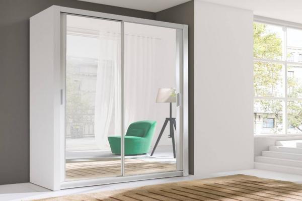 Ein weißer Kleiderschrank – Nollie - Prime Home Deutschland – Möbel für Haus und Büro | www.prime-home.de