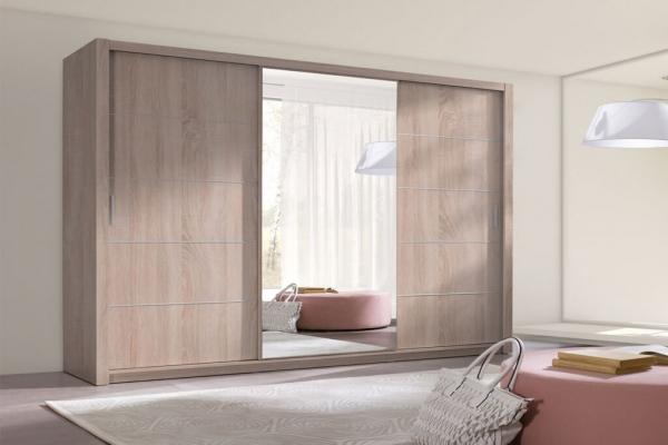 Kleiderschrank Sonoma – Berra - Prime Home Deutschland – Möbel für Haus und Büro | www.prime-home.de