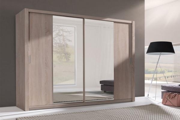 Kleiderschrank sonoma – Sewa - Prime Home Deutschland – Möbel für Haus und Büro | www.prime-home.de