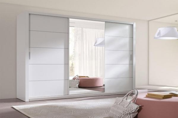 Ein weißer Kleiderschrank – Berra - Prime Home Deutschland – Möbel für Haus und Büro | www.prime-home.de
