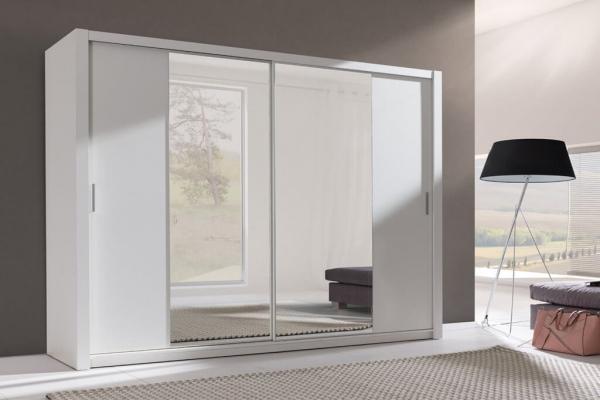 Ein weißer Kleiderschrank – Sewa - Prime Home Deutschland – Möbel für Haus und Büro | www.prime-home.de