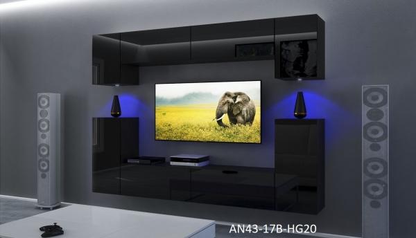 mobel-wohnzimmer-schwarz-hochglanz - Prime Home Deutschland – Möbel für Haus und Büro | www.prime-home.de