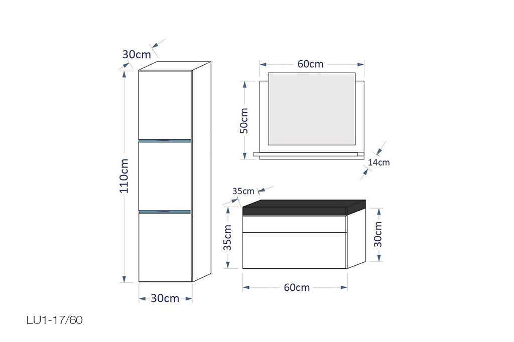 m bel f r badezimmer amanda wei. Black Bedroom Furniture Sets. Home Design Ideas