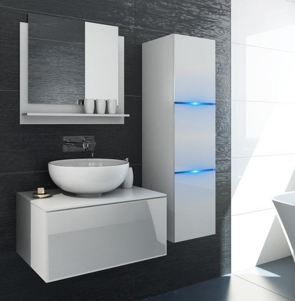Weiße Möbel für Badezimmer ohne Waschbecken – Like – Prime Home Deutschland | www.prime-home.de