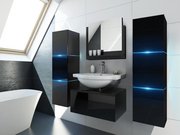 Schwarze Möbel für Badezimmer ohne Waschbecken – Like 14 – Prime Home Deutschland | www.prime-home.de