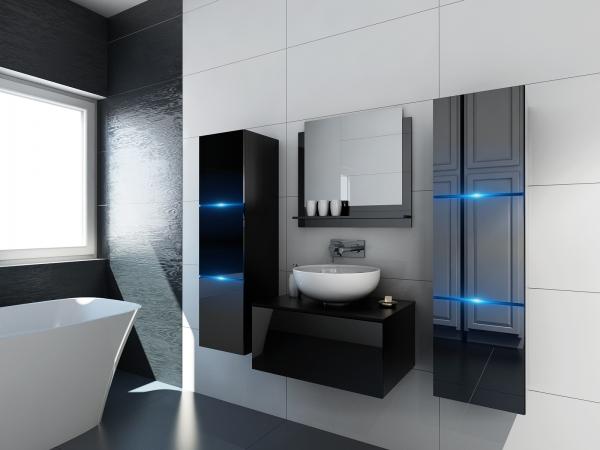 Schwarze Möbel für Badezimmer ohne Waschbecken – Like 2 –Prime Home Deutschland | www.prime-home.de