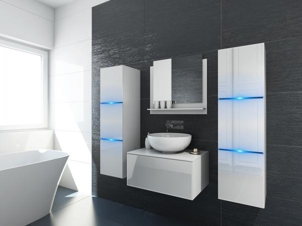 m bel f r badezimmer marino 2 wei. Black Bedroom Furniture Sets. Home Design Ideas