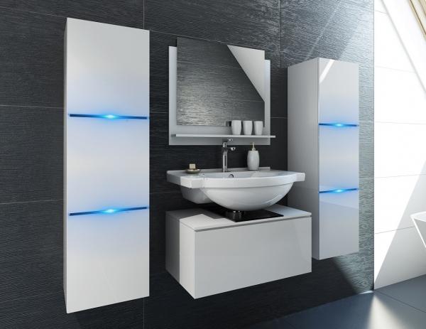 Weiße Möbel für Badezimmer ohne Waschbecken – Bomber – Prime Home Deutschland | www.prime-home.de